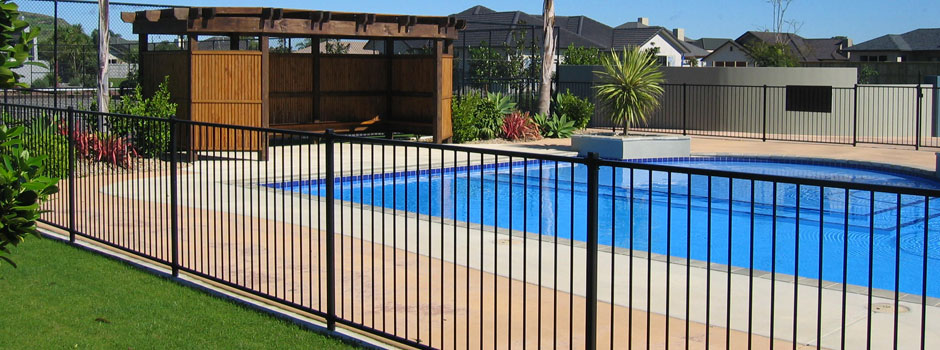 Pool Fence ornamental fence | metal fence | pool fence | grand rapids