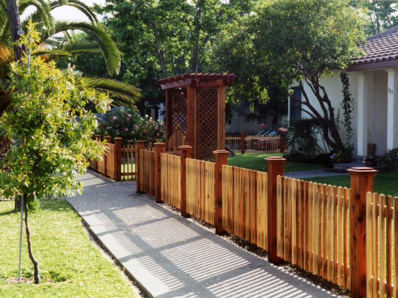 Picket Fence by Alto Fencing Services