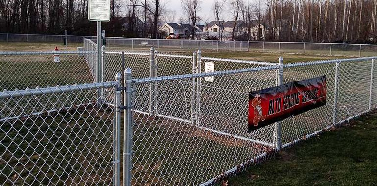 Chain link fence by alto fencing