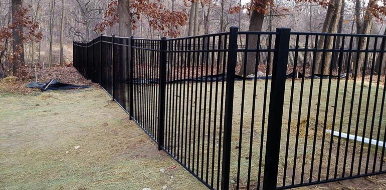 Metal Fence by Alto Fence